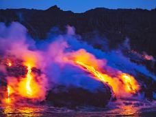 美国夏威夷大岛(夏威夷岛)4日跟团游(4钻)·【深度游大岛 三色沙滩】【宛若巨型抹茶慕斯】绿沙滩·【绿海龟产卵地】黑沙滩·科纳白沙滩漫步·【火锅味的这个岛】火山国家公园·彩虹瀑.可选观星.可选直升机