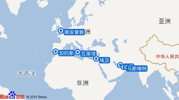 Aurora航线图
