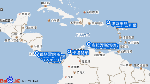Wind Star航线图