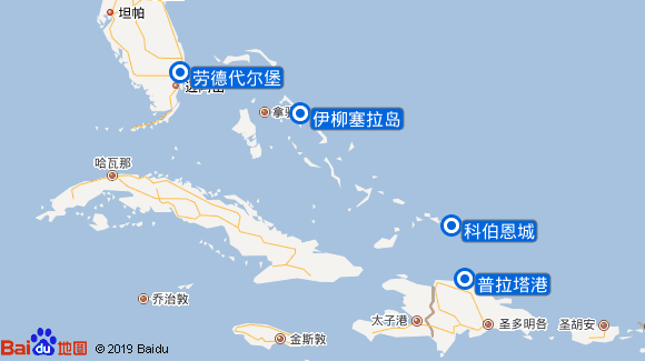 Freedom航线图