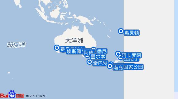 海洋灿烂号航线图
