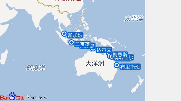 Silver Muse航线图