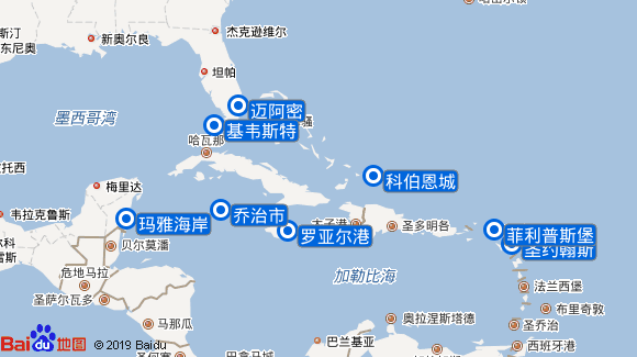 水晶尚宁号航线图