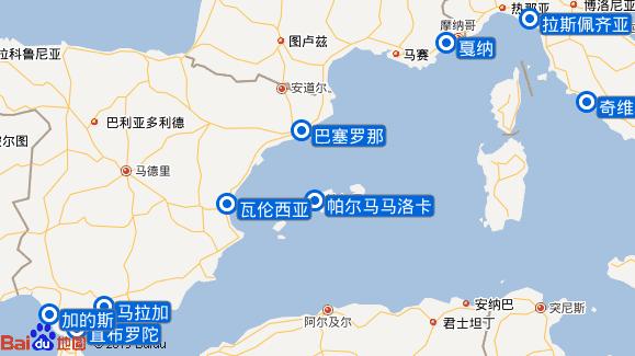 迈希夫二号航线图