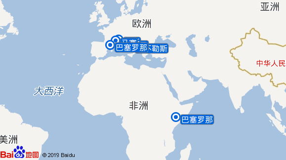 君主号航线图