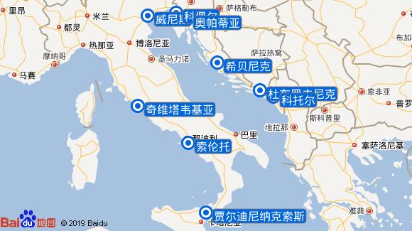 探索号航线图