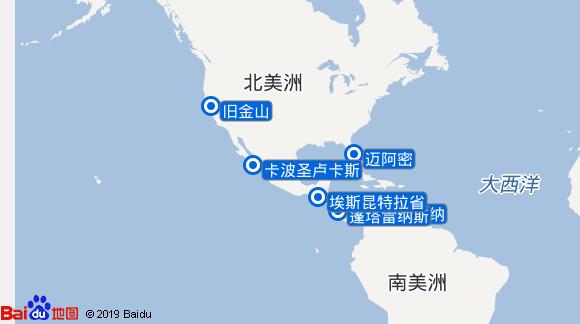 Miracle航线图