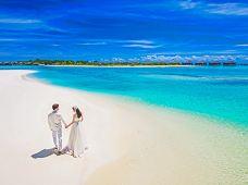 全球旅拍·马尔代夫非驻岛2天·旅拍婚纱照拍摄套餐(需额外摄影团队上岛费及补助 一对一中文摄影团队服务)底片全送