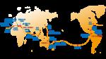 海洋梦号航线图