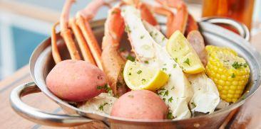 特色海鲜小食