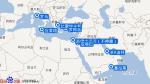 地中海海平线号航线图