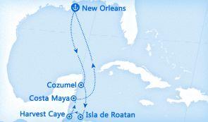 科苏梅尔+罗阿坦+Glovers Reef Atoll+玛雅海岸