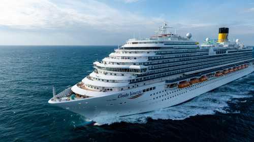 歌诗达邮轮 【威尼斯号】 日本航线 6日 上海上船