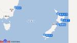 红宝石公主号航线图