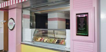 意式冰激凌与烘培店