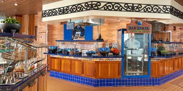 蓝鬃蜥餐厅