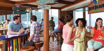 蓝鬣蜥龙舌兰酒吧
