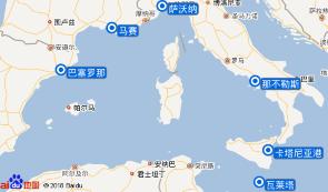 跟团游·.(4星).地中海经典巡游:西班牙+法国+意大利+瑞士+马耳他( 航班待定航)
