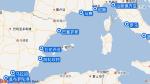 嘉印号航线图