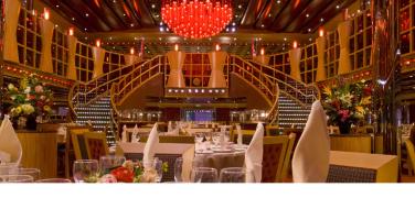 深红色主餐厅