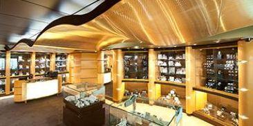 太阳眼镜、手表及时装首饰店