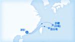 大西洋号航线图