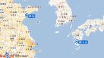 中华泰山号航线图