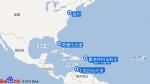 海洋冒险者号航线图