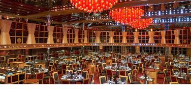 猩红色餐厅