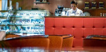 书签的咖啡馆