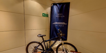 单车展示区