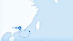 世界梦号航线图