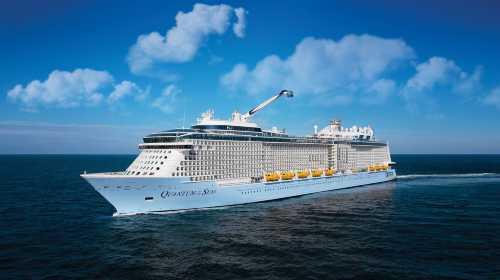 皇家加勒比国际游轮 【海洋量子号】 日本航线 9日 上海上船