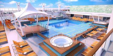 主泳池甲板