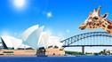 【乐享人生·亲子必选】澳大利亚黄金季9天6晚·夜宿塔龙加动物园+亲手为小企鹅筑巢+VIP后台澳野奇观表演秀