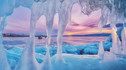 【如梦似幻·蓝冰奇观】贝加尔湖纯净之旅5天4晚·西伯利亚明眸+狗拉雪橇+雪地摩托+雾凇传说石+赏蓝冰奇观+伊尔库茨克