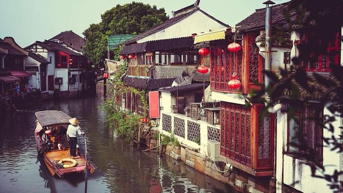All-inclusive Shanghai City Highlights and Zhujiajiao Water Town Combo Day Tour