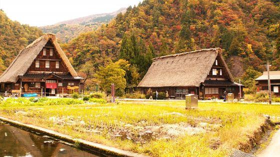 【名古屋出発】白川郷・五箇山の合掌造り集落、飛驒高山 1日ツアー