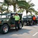 Jeep Tour to Marble Mountain, Son Tra Peninsula and Hai Van Pass