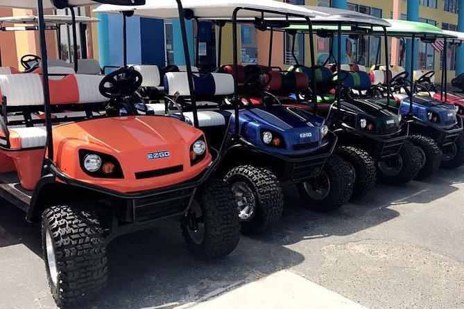 24 Hour Golf Cart Rental (4 passenger)