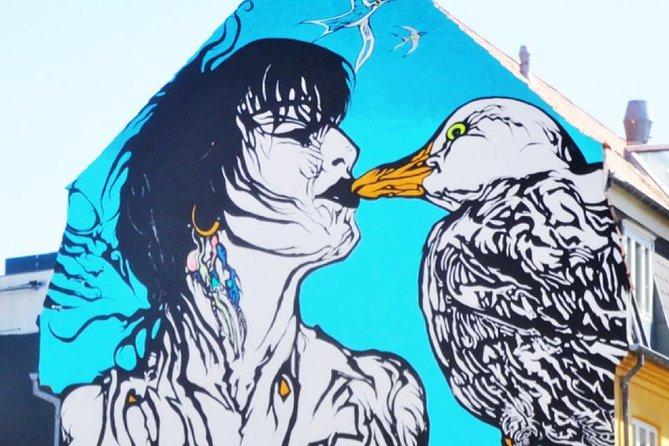 Street Art and rooftops of Aarhus