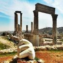 Private Amman City Sightseeing Tour with Optional Arabic Mezze Lunch and Turkish Bath