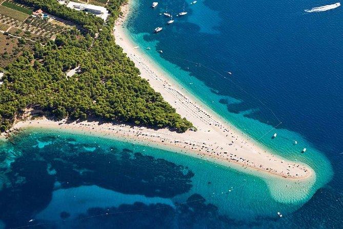 Private tour to Bol & Zlatni Rat beach with wine tasting