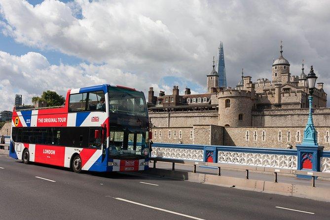 The Original Tour London: Hop-On Hop-Off Bus Tour & Tower of London