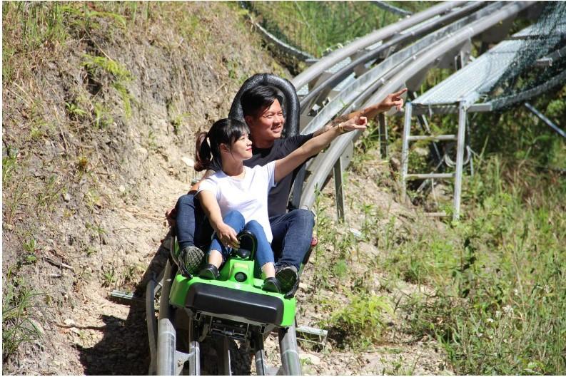 Datanla New Alpine Coaster Experience in Da Lat