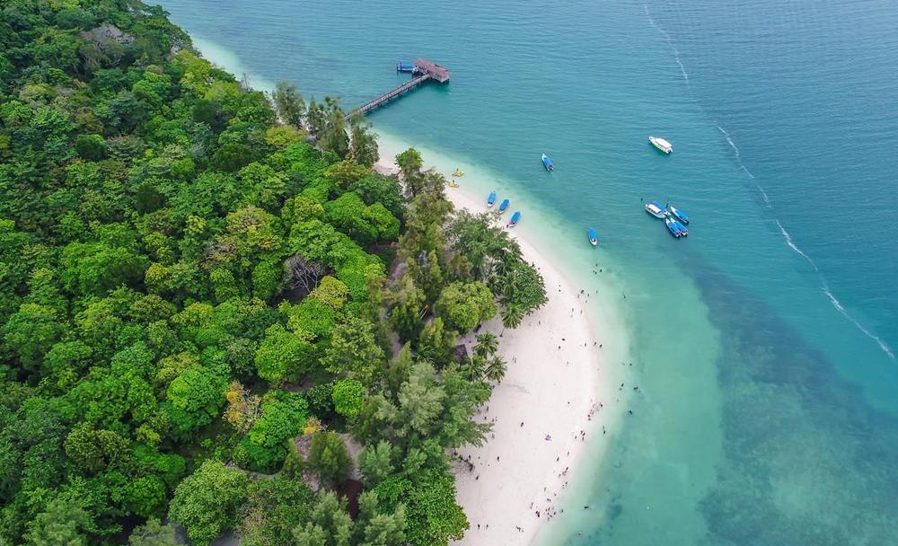 仙本那馬達京+汀巴汀巴三島跳島一日遊(1對4中文導遊+雙引擎快艇+水下拍照)