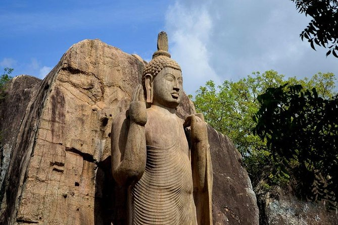 Private Day Tour to Aukana And Ancient City of Anuradhapura From Polonnarwa.