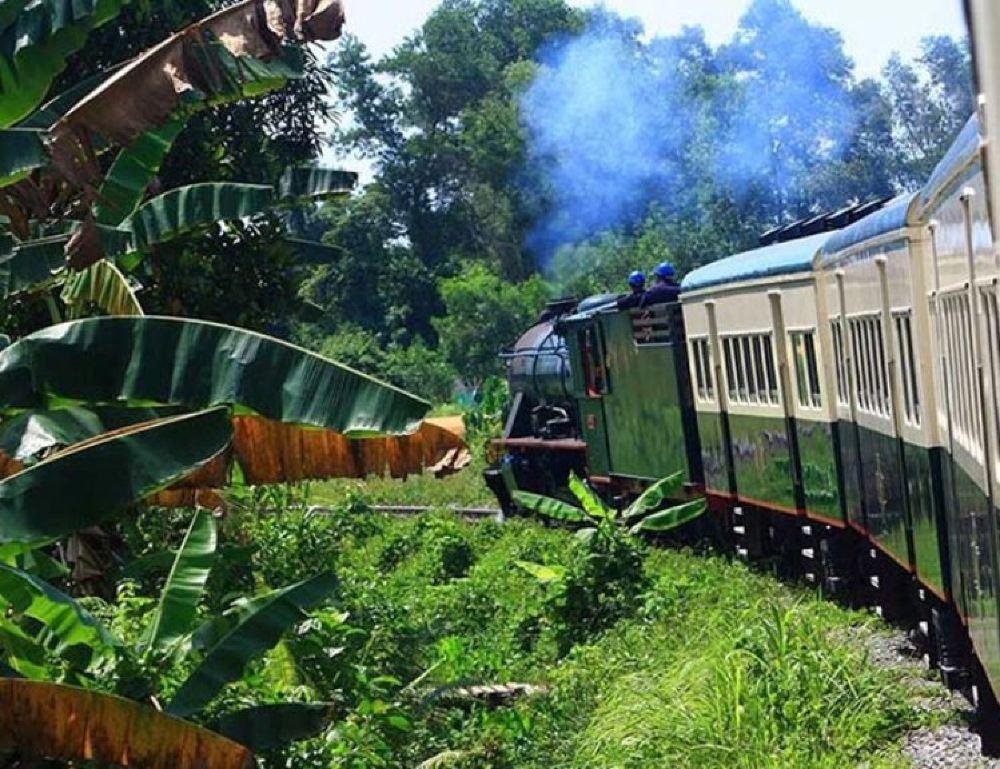 35939北婆罗洲铁道火车
