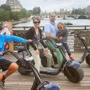 Tour of Paris in electric scooter