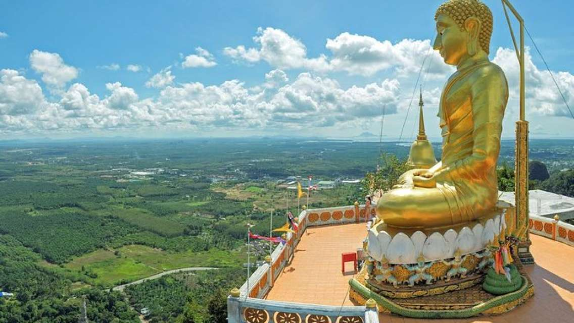 Full-Day Jungle Tour Including Tiger Cave Temple, Crystal Pool and Krabi Hot Springs